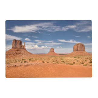 View of the Mittens, Monument Valley Laminated Place Mat