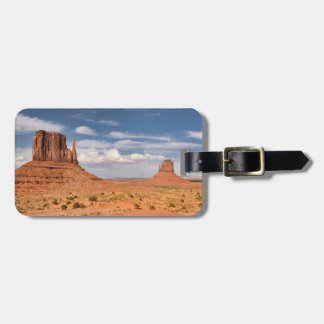 View of the Mittens, Monument Valley Luggage Tag
