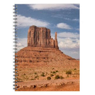 View of the Mittens, Monument Valley Spiral Note Books