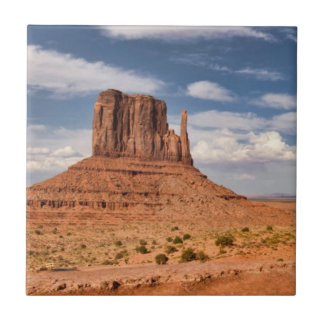 View of the Mittens, Monument Valley Tile