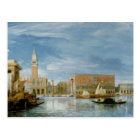 View of the Molo and the Palazzo Ducale Postcard