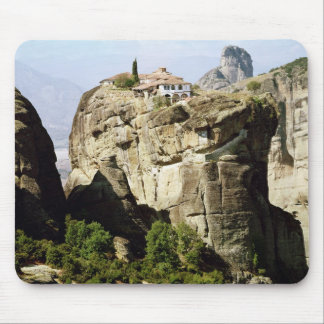 View of the Monastery of the Holy Trinity Mouse Mat