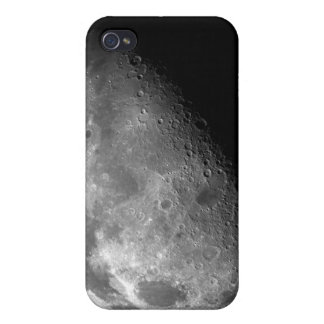 View of the Moon's north pole iPhone 4/4S Cases