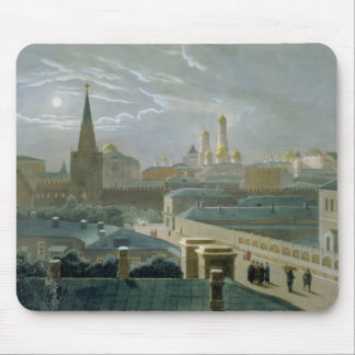 View of the Moscow Kremlin, 1840's Mouse Pads