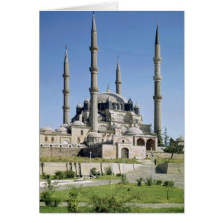 View of the mosque Ottoman built c 1569-75 Greeting Card