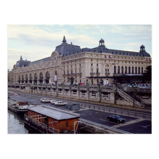 View of the Musee d'Orsay from the north-west Postcards