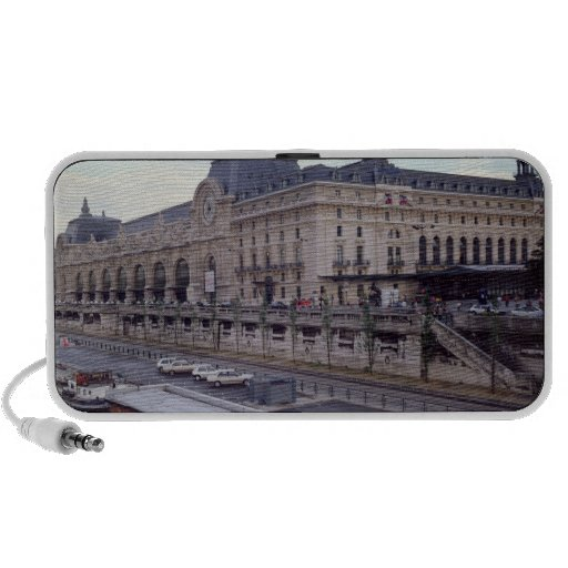 View of the Musee d'Orsay from the north-west Travelling Speaker