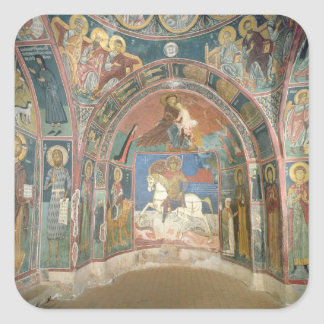 View of the narthex, 1332-3 square sticker
