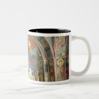 View of the narthex, 1332-3 Two-Tone coffee mug