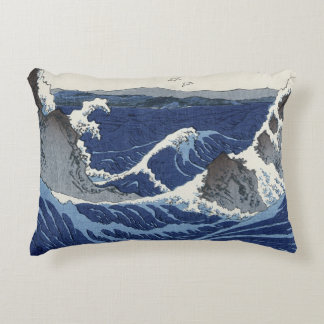 View of the Naruto whirlpools at Awa Accent Pillow