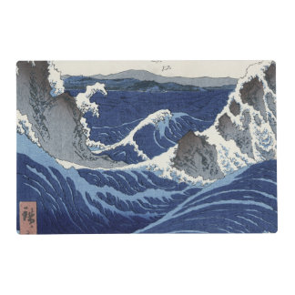 View of the Naruto whirlpools at Awa Laminated Placemat