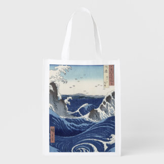 View of the Naruto whirlpools at Awa Reusable Grocery Bags