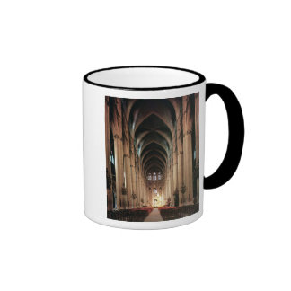 View of the nave, 1225-50 coffee mugs