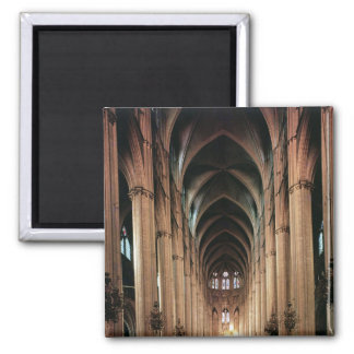View of the nave, 1225-50 square magnet