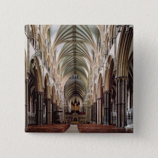 View of the nave, built 1215-55 15 cm square badge