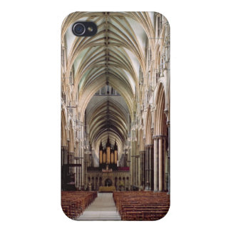 View of the nave, built 1215-55 iPhone 4 cover