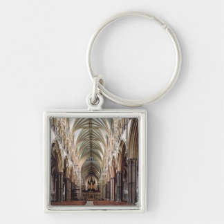 View of the nave, built 1215-55 keychains