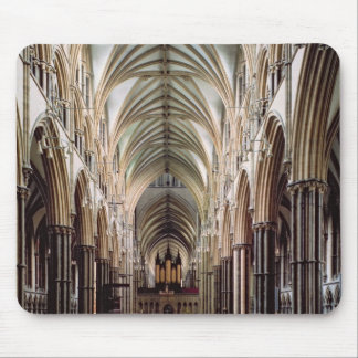 View of the nave, built 1215-55 mouse pad