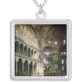 View of the nave personalized necklace