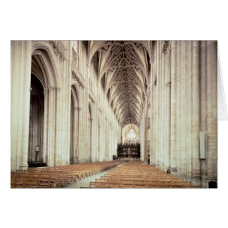 View of the nave, remodelled by William of Cards