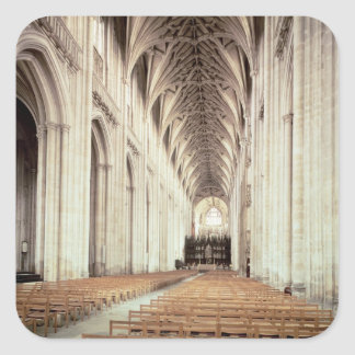 View of the nave, remodelled by William of Sticker