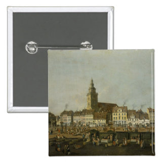 View of the Neue Markt with St. Mary's 15 Cm Square Badge