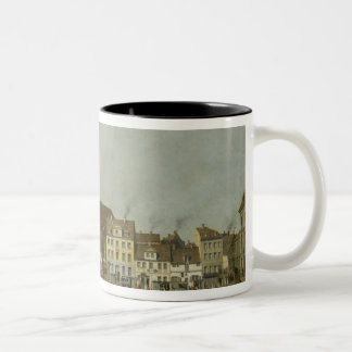 View of the Neue Markt with St. Mary's Coffee Mug