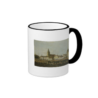 View of the Neue Markt with St. Mary's Mugs