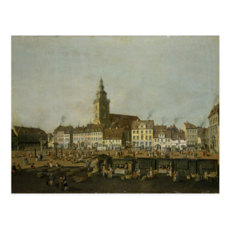 View of the Neue Markt with St. Mary's Postcard