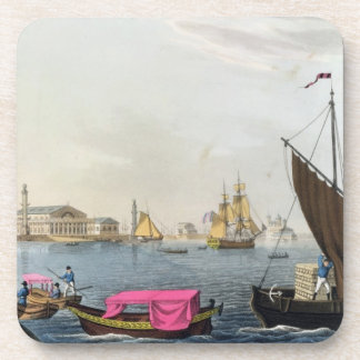 View of the Neva, the Harbour and the Exchange at Coaster
