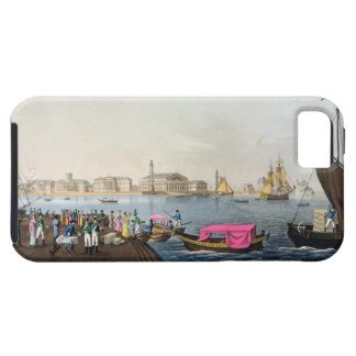 View of the Neva, the Harbour and the Exchange at iPhone 5 Covers