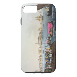 View of the Neva, the Harbour and the Exchange at iPhone 8/7 Case