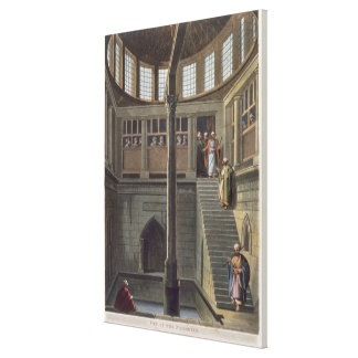 View of the Nilometer, plate 2 from 'Views of Egyp Canvas Print