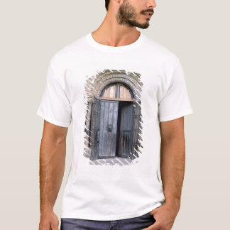 View of the North Door of Durham Cathedral T-Shirt