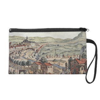 View of the north of Vienna with the Schlos Hernal Wristlet