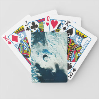 View of the North Pole Bicycle Playing Cards