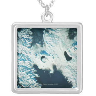 View of the North Pole Silver Plated Necklace