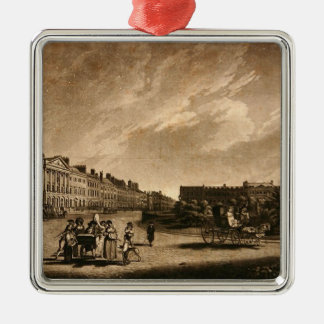 View of the north side of Grosvenor Square, 1789 Christmas Ornament