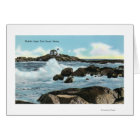 View of the Nubble Lighthouse Card