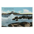 View of the Nubble Lighthouse Poster