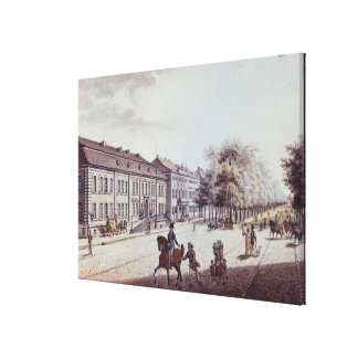 View of the Opera House, Berlin Canvas Print