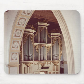 View of the Organ in the church at Rotha Mouse Mat
