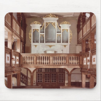 View of the Organ Mouse Pad