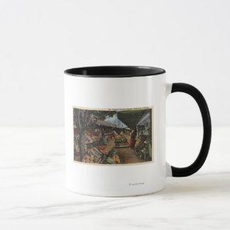 View of the Original Farmer's Market Mug