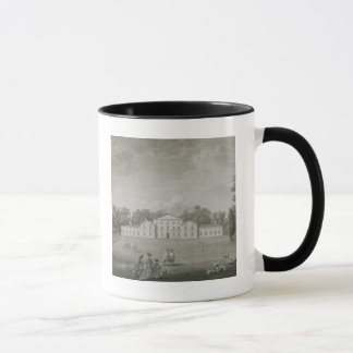 View of the Palace at Kew from the Lawn, engraved Mug