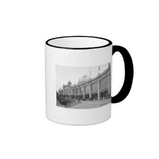 View of the Palais des Beaux-arts Ringer Coffee Mug