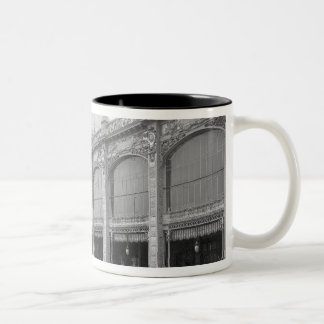 View of the Palais des Beaux-arts Two-Tone Coffee Mug
