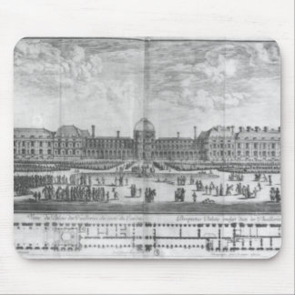 View of the Palais des Tuileries from gardens Mouse Mat