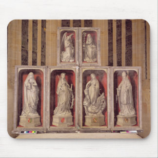View of the panels of the closed altarpiece mouse mat