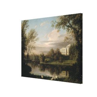 View of the Pavlovsk Palace, c.1800 Canvas Print